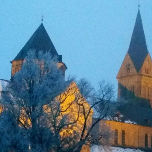 St. Anna im Winter